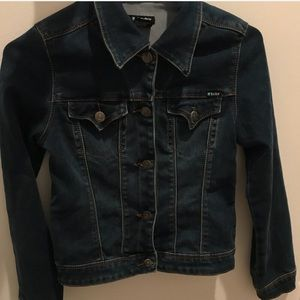 Tractor Jean Jacket for kids